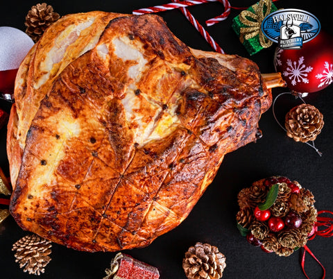 ham on the bone for christmas