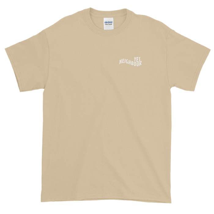 Yes Neighbour Tee (Sand)