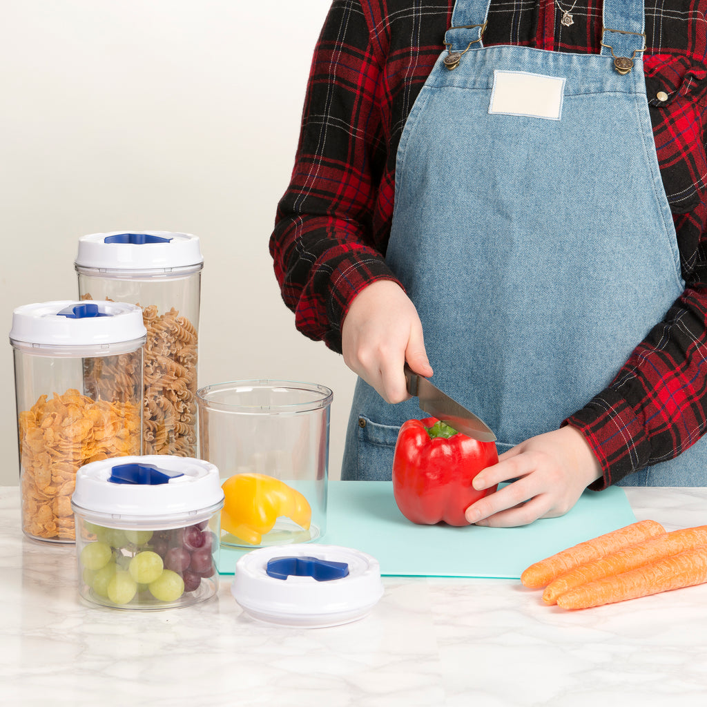 Airtight Food Storage Containers with Lockable Lids - set of 4