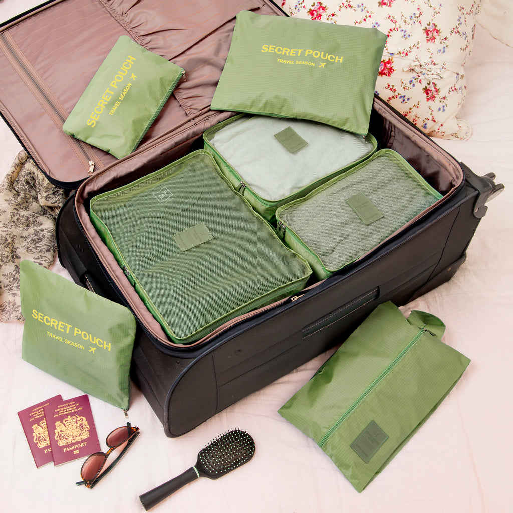 Packing Cube Luggage Organiser Set – 7 Set