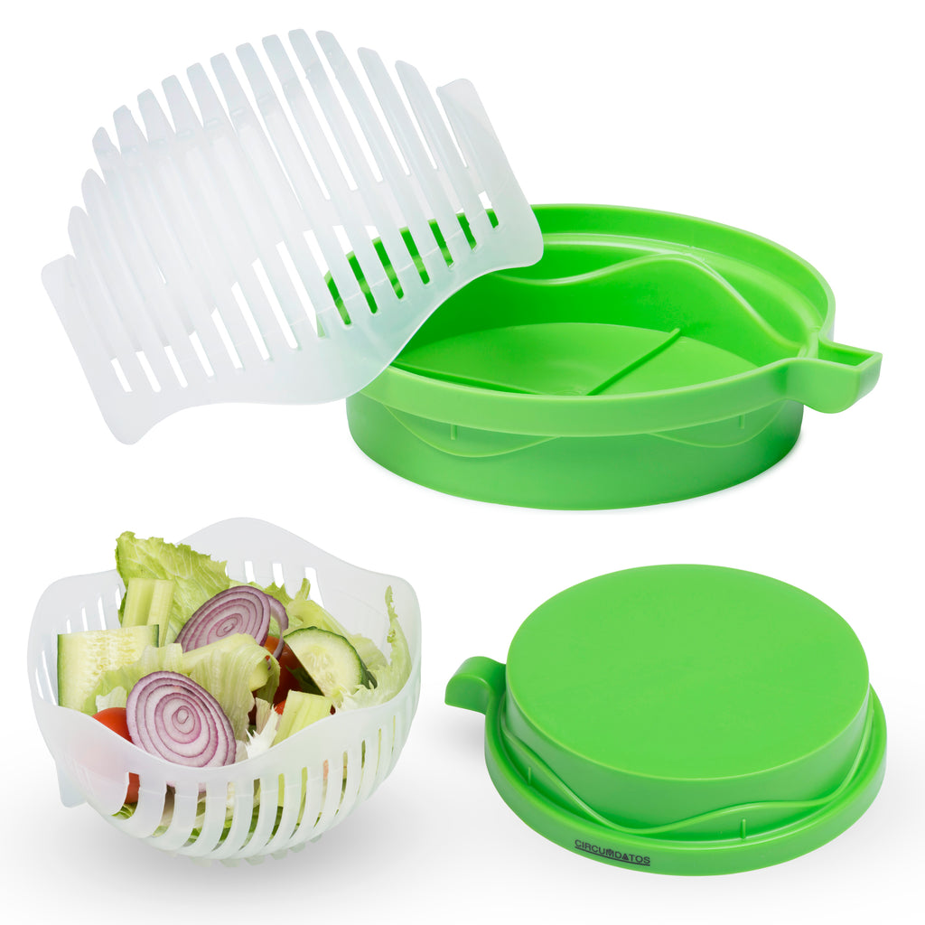 Circumdatos Salad Cutter Bowl