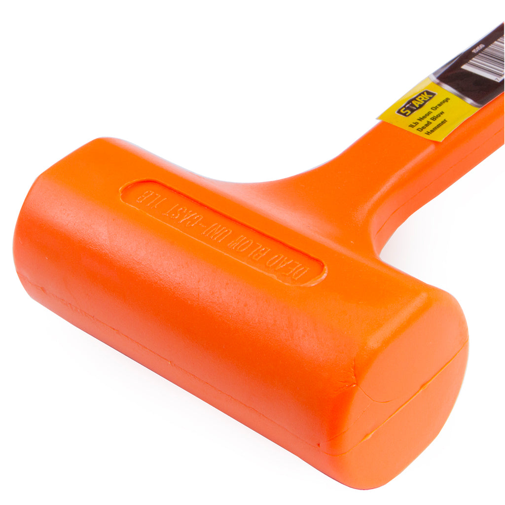 1 Lbs Dead Blow Hammer Mallet Spark And Rebound Resistant Material Ne Xtremepowerus Kit contains 13 oz., 26 oz. 1 lbs dead blow hammer mallet spark and rebound resistant material neon orange
