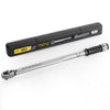 "3/4"" DR Drive Mini Adjustable Clicker Torq Torque Wrench Click Tool w/ Case"