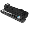 "1/4"" DR. Torque Wrench 40-250 In/Lb Auto Click Adjustable Gauge Ratchet w/ Case"