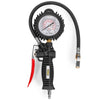 Tire Inflator Pressure Oil Gauge Air Chuck Compressor Accessories Rubber Hose