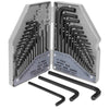 30PC Combo Hex Key Allen Wrench Set SAE / MM Hex-L Long Short Arm Wrench + Case
