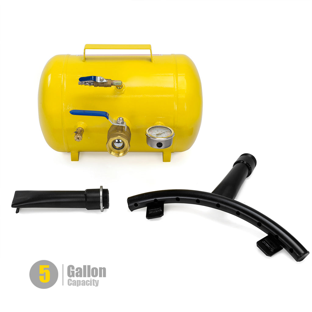Rapid Pump 5 Gallon Air Bead Seater Tire Tool Blaster Wheel Tool shop 145Psi