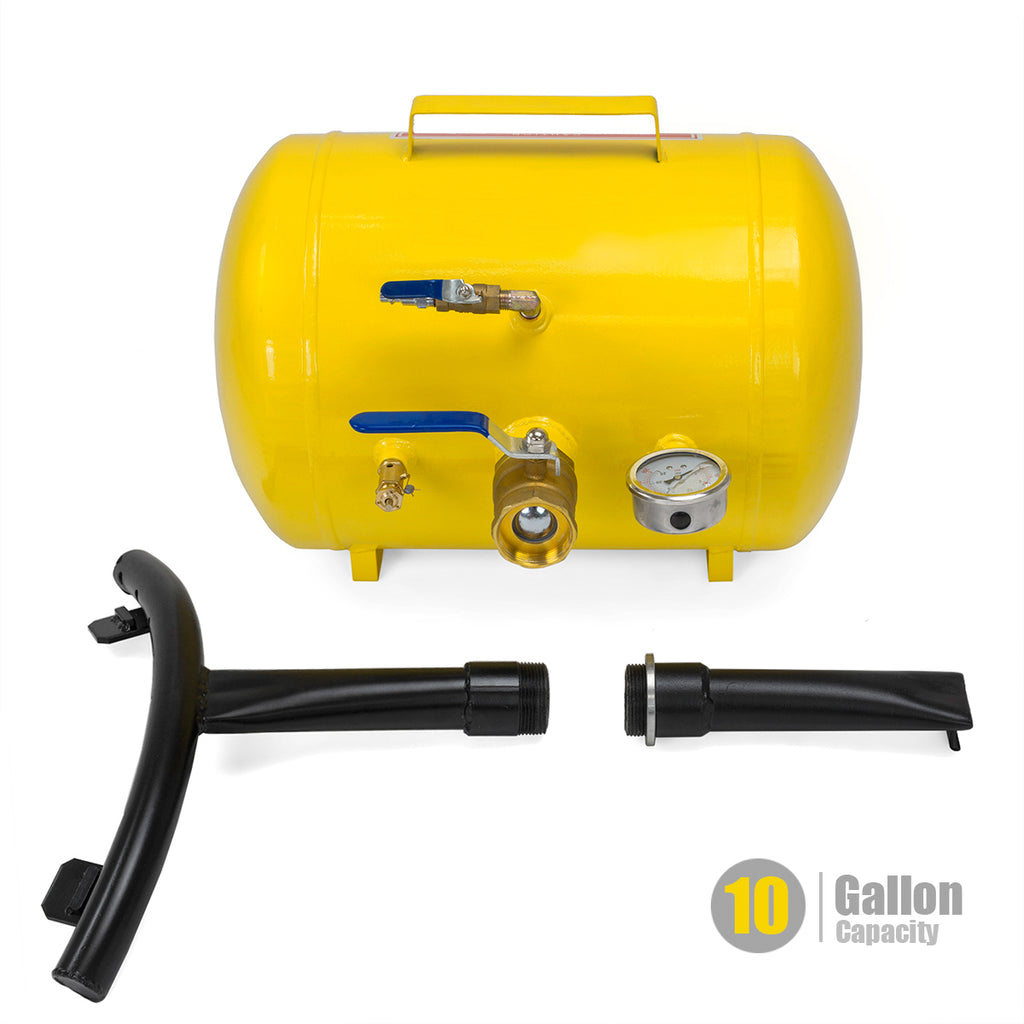 Rapid Pump 10 Gallon Air Bead Seater Tire Tool Blaster Wheel Tool shop 145Psi