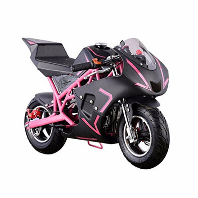 40CC 4-Stroke Gas Power Mini Pocket Motorcycle Ride-on (Pink)