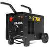 Dual 110/220V 250AMP ARC Welding Machine Fan Cooled Single Phase 14.2KVA 2 Wheel