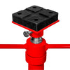 Heavy Duty 2 Ton auto shop Steel Red Under Hoist Mount Tripod Stand Under Hoist