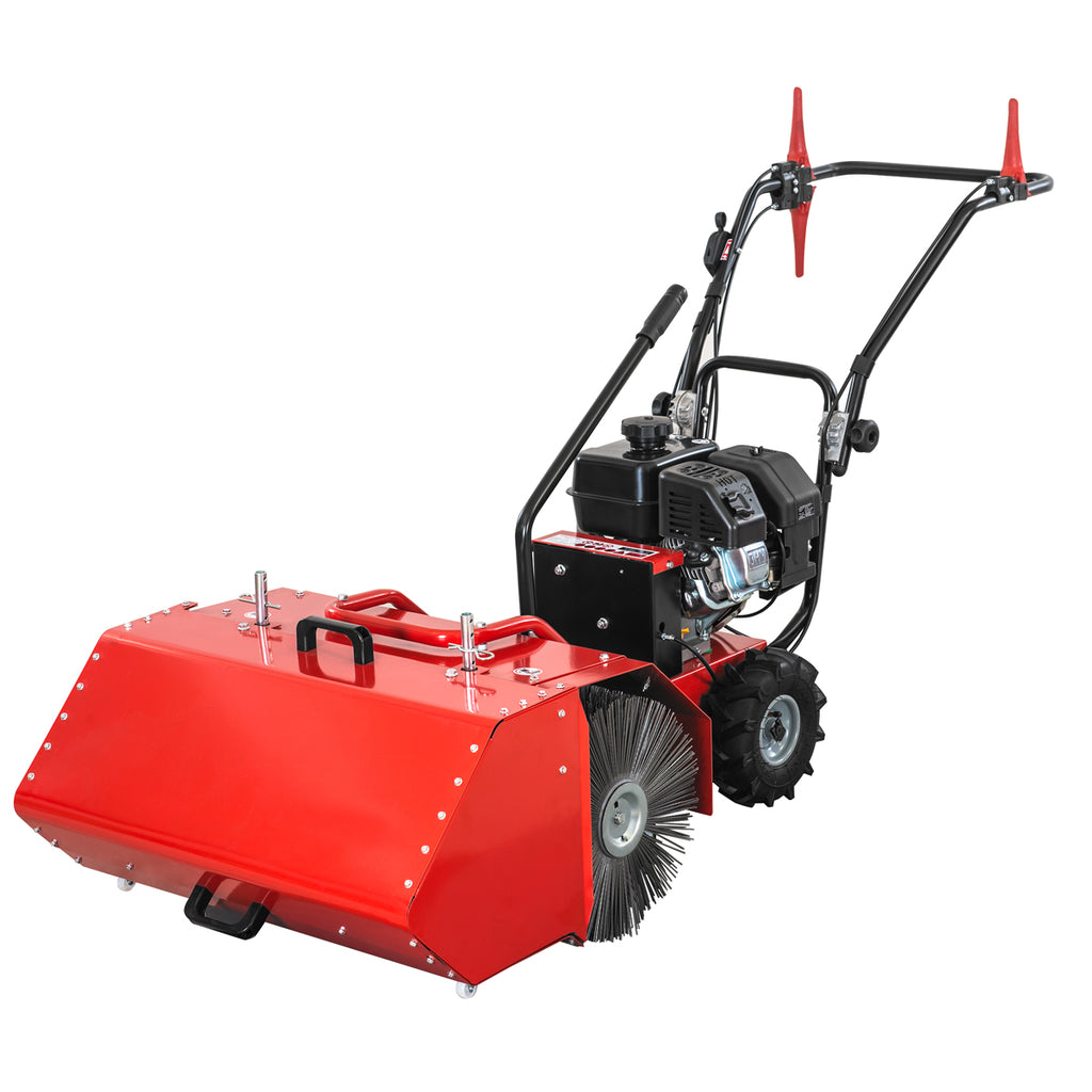 "XtremepowerUS 27.5"" Power Sweeper Kohler SH265 196cc CARB/EPA 6.5HP with Dust Collection Bucket"
