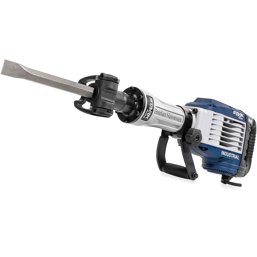 1500W professional Jack Hammer Drill Demolition Concrete Flat Bull Point Chisel