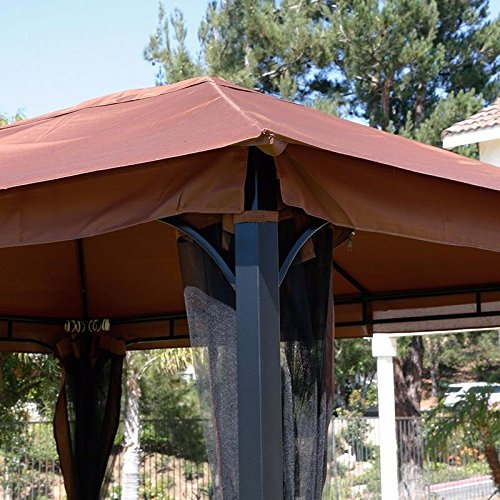 Replacement canopy for 96164 10x12 Gazebo & Replacement canopy for 96164 10x12 Gazebo u2013 XtremepowerUS