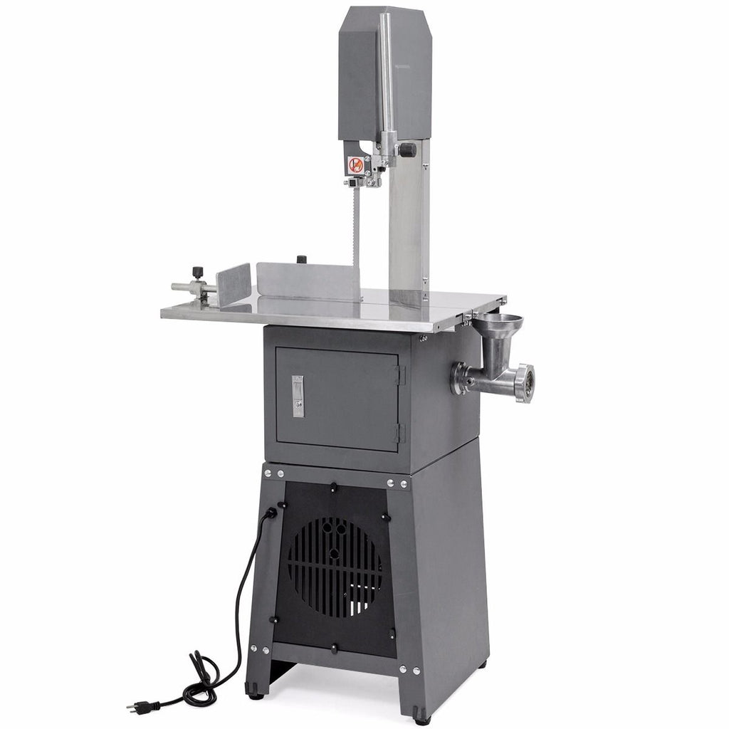Professional Meat Cutting Band Saw with Built-in Grinder 3/4 hp Motor Meat-Saw
