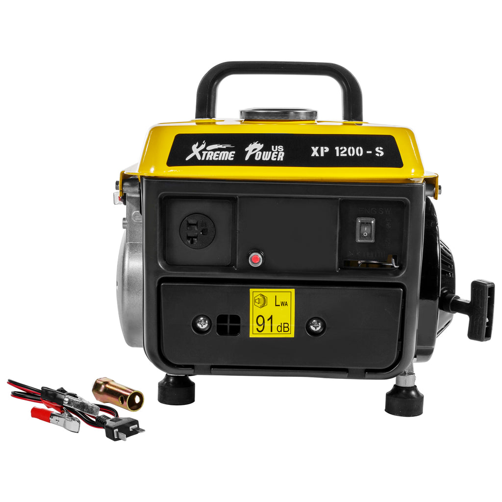 1200-Watt Generator 2-Stroke 63cc Gasoline Engine Camping RV Portable Power Tool