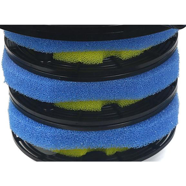Filter Sponge Full Set (Yellow and Blue) Replacement Parts 39/40 for Koi Pond Filter P71015-39-40