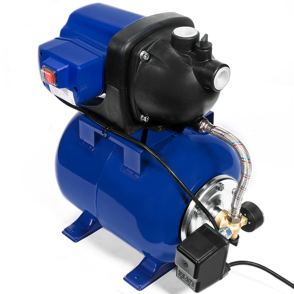 "1.6HP 1"" inch Water Jet Pump Shallow Well Fountain Garden Lawn Sprinkler System"
