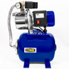 1.5HP Water Jet Pump Shallow Well Fountain Garden Lawn Booster System Tank