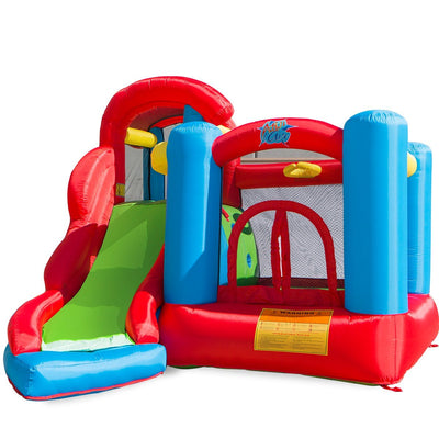 XtremepowerUS Little Kids Inflatable Bounce House Play Center w/ Blower
