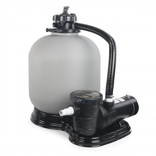 "4500GPH 19"" Sand Filter w/ 1.5HP Above Ground Swimming Pool Pump"