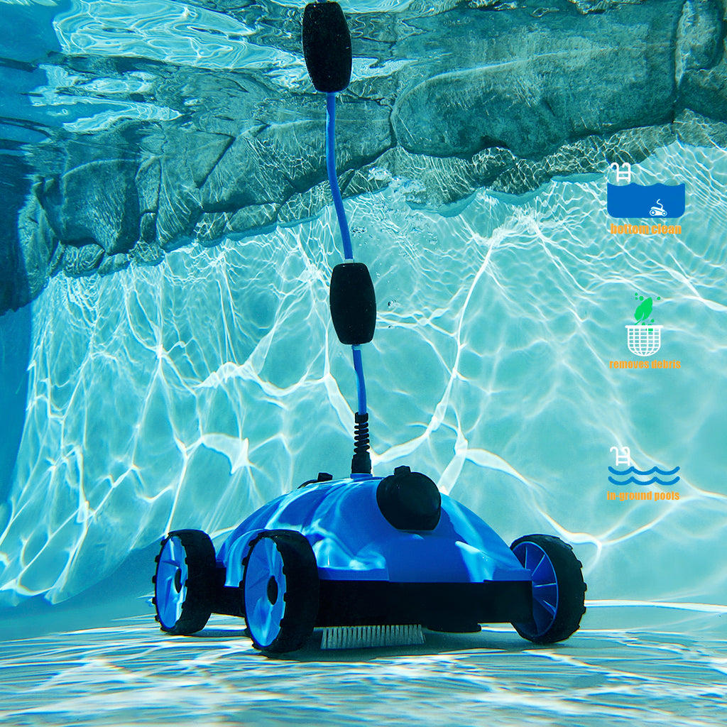 XtremepowerUS Pool Cleaner Floor Vacuum Robotic Style with 43 Feet Swivel Cable