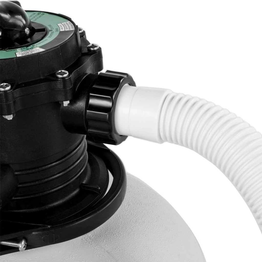 """XtremepowerUS Above-Ground Swimming Pool 16/"""" Sand Filter 3100GPH .75hp Pool Pump"""