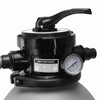 "2640 GPH Self Priming Swimming Pool Pump w/ Timer 13"" Sand Filter Above Ground"