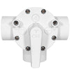 "3-Way Diverter Valve 1.5"" inch (Slip) PVC Control Water Flow Spa Swimming Pool"