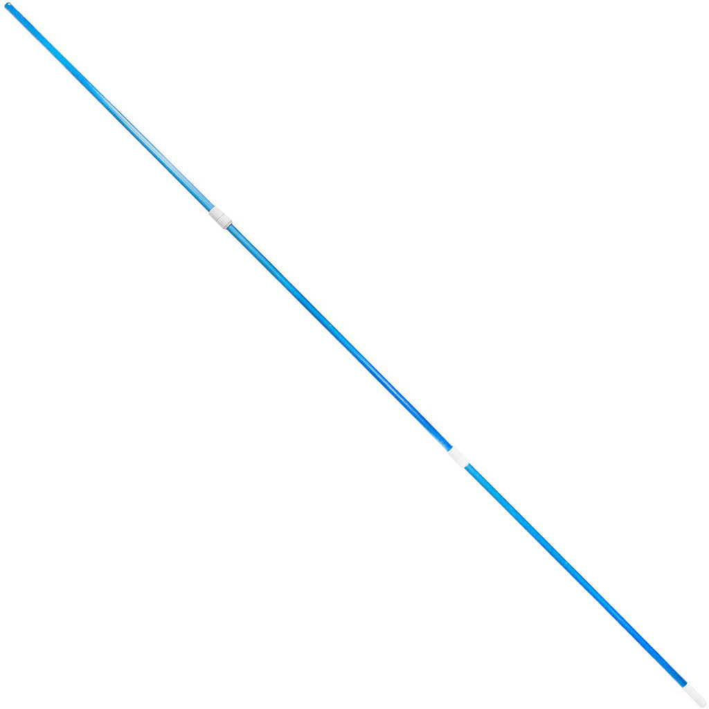 Swimming Pool 3-Pieces Telescoping Pole for Swimming Pool Vacuum 5' ft - 15' ft