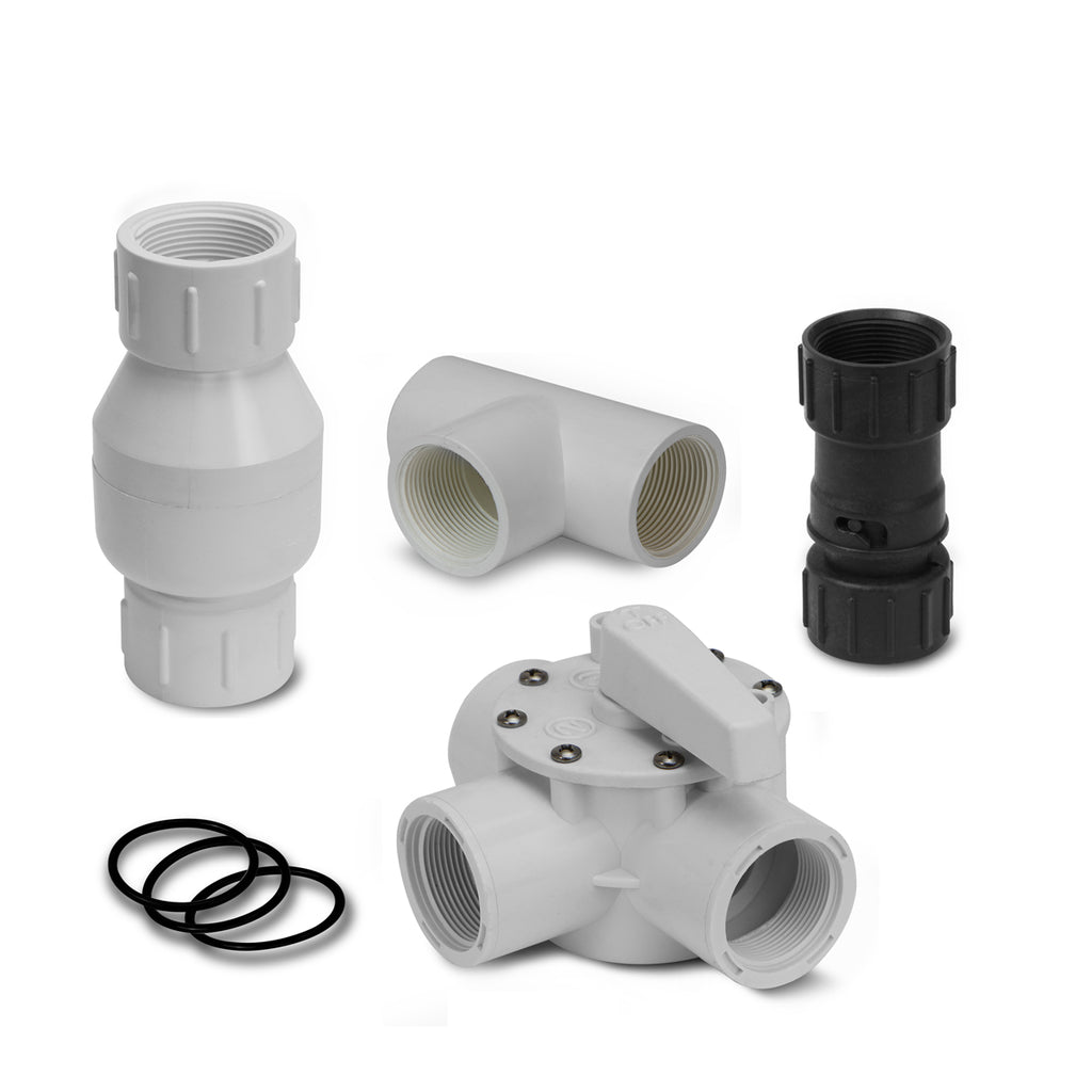 "1.5"" Diverter Kit for Solar Panel Heating System Connector Swimming Pool Above Ground"