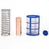 XtremepowerUS Replacement Anodes Copper & Screen Basket Kit for Solar Ionizer
