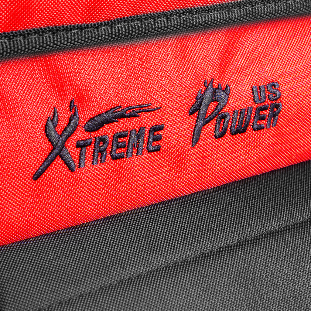 "XtremepowerUS 18"" Rolling Portable Tool Bag with wheels Storage Organizer Tote"
