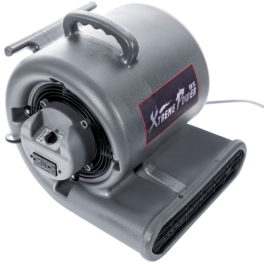 Commercial Air Mover Carpet Dryer Blower Floor Drying Fan 3-Speed Lightweight