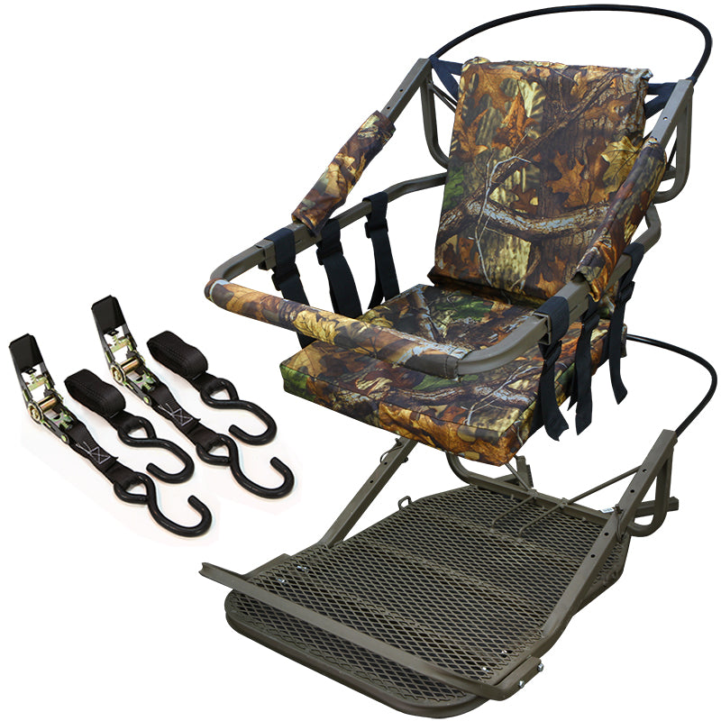 Outdoor Tree Stand Climber Climbing Hunting Deer Bow Game Hunt Portable 300lb