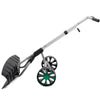driveway Snow Shovel Removal Blade Wheels Plow Adjustable Pusher Walk behind