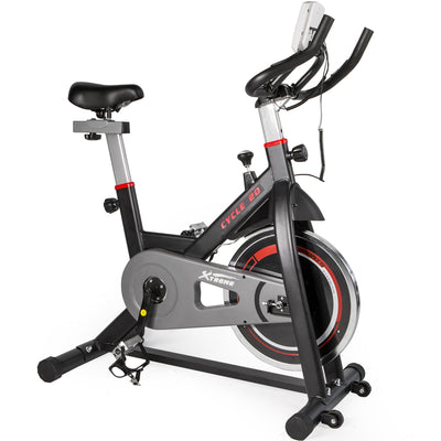 Xtreme Fitness 20 Stationary Bike Exercise Bike Cardio Indoor Cycling Bicycle
