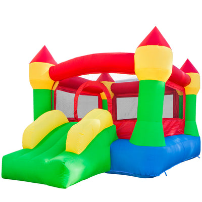 XtremepowerUS Inflatable Bounce House Castle Jumper House Bouncer with Blower