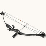"XtremepowerUS Archery Compound Bow 30-40 Lbs 23"" to 30"" Hunting Equipment w/ Riser & Fiberglass limbs"