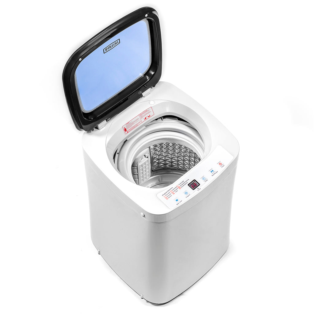 Full Automatic 7.7LBS Compact Washing Machine Spin Dryer Laundry with Display