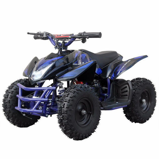 XtremepowerUS ATV Outdoor Electric Titan 24V 350W 2 Adjustable Speed Blue