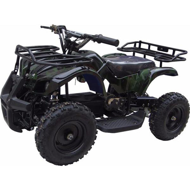 XtremepowerUS Mini Electric Sonora Quad Battery-Powered ATV Green