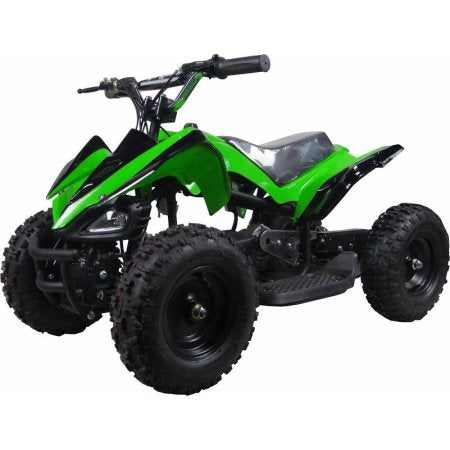 XtremepowerUS Mini ATV Outdoor Electric Mars 24V 350W Green