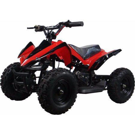 XtremepowerUS Mini ATV Outdoor Electric Mars 24V 350W Red