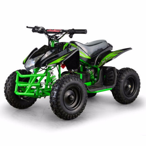 XtremepowerUS ATV Outdoor Electric Titan 24V 350W 2 Adjustable Speed Green