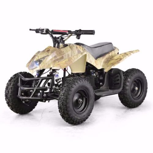 XtremepowerUS ATV Outdoor Electric Titan 24V 350W 2 Adjustable Speed Camo