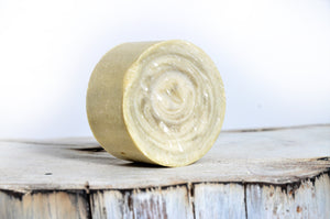 Eucalyptus & Peppermint Shave Soap - The Wooden Boar Soap Company