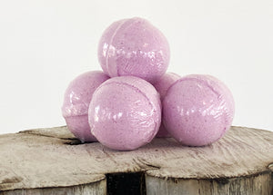 Serenity Bath Bomb - The Wooden Boar Soap Company