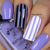 #017 Lynnie Loves Lavender - Nail Stamping Color (5 Free Formula)