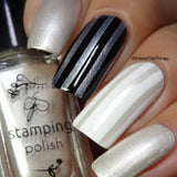 #034 Angelic White - Nail Stamping Color (5 Free Formula)